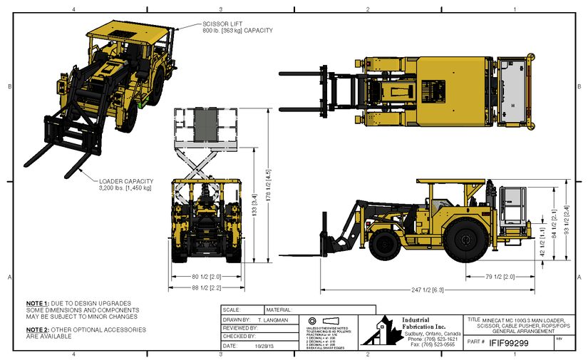 Industrial Fabrication Inc  - Makers of MINECAT mining equipment