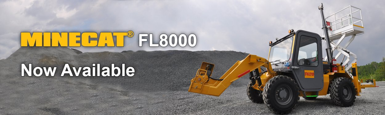 MINECAT FL8000 Mining Underground Forklift Now Available